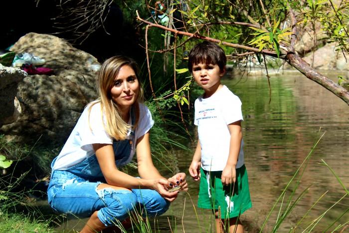 Un día de senderismo con los niños en Las Canales 18