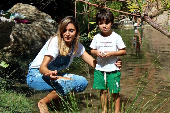 Un día de senderismo con los niños en Las Canales 19