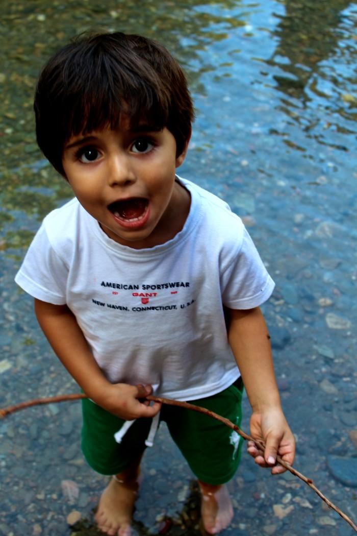 Un día de senderismo con los niños en Las Canales 9