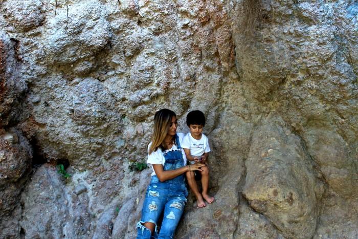 Un día de senderismo con los niños en Las Canales 25