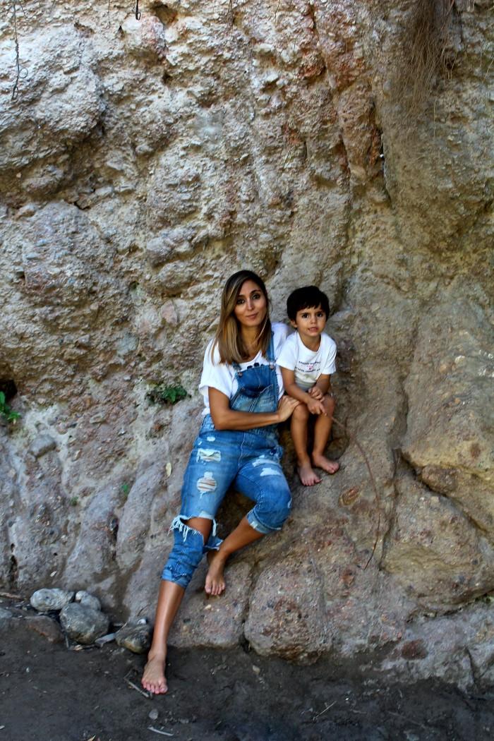 Un día de senderismo con los niños en Las Canales 26