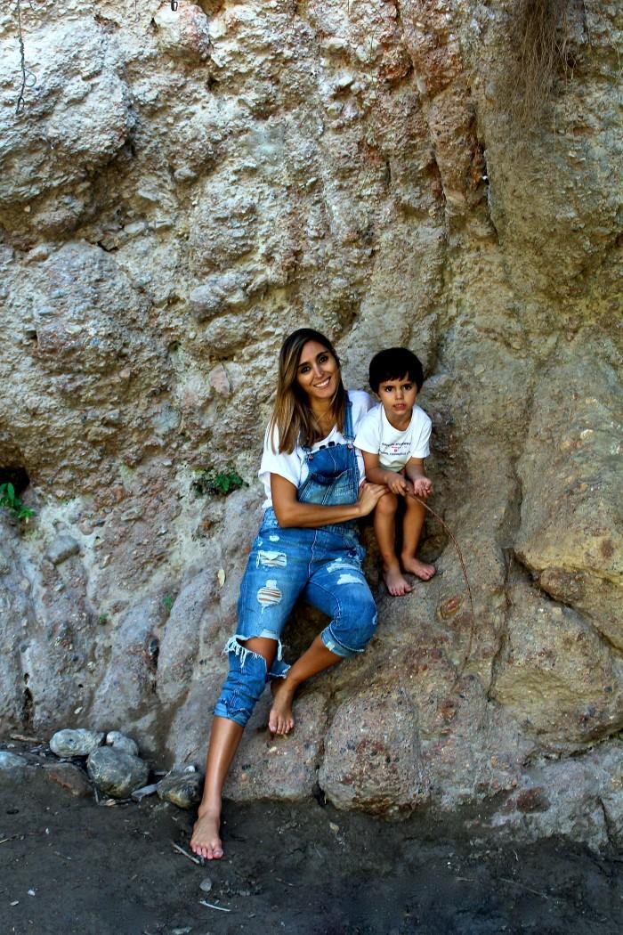 Un día de senderismo con los niños en Las Canales 27