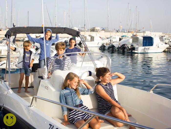 12 un paseo en barco por Almería