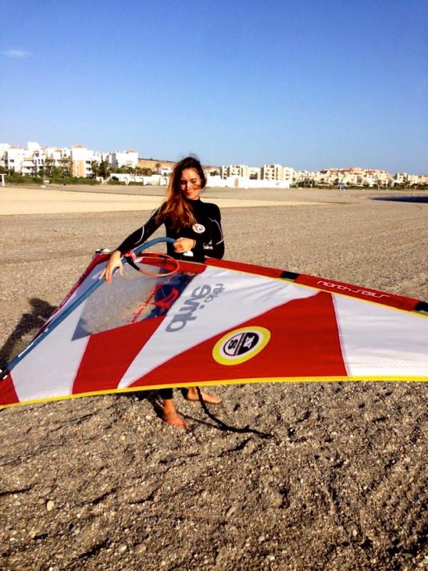El windsurf es una de mis pasiones