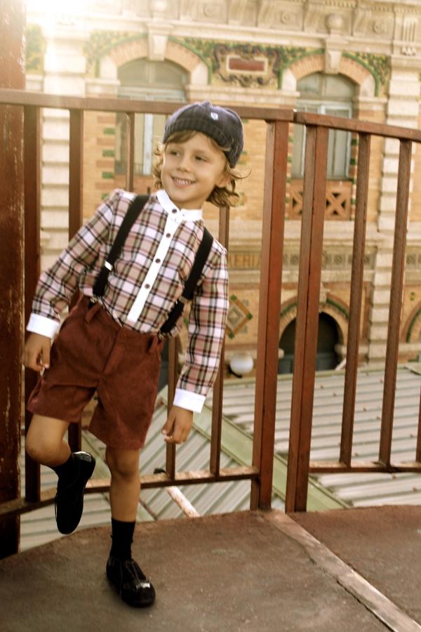 moda infantil clásicos con estilo