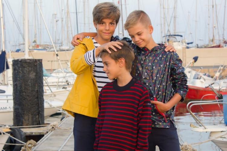 marineros de serie moda niños