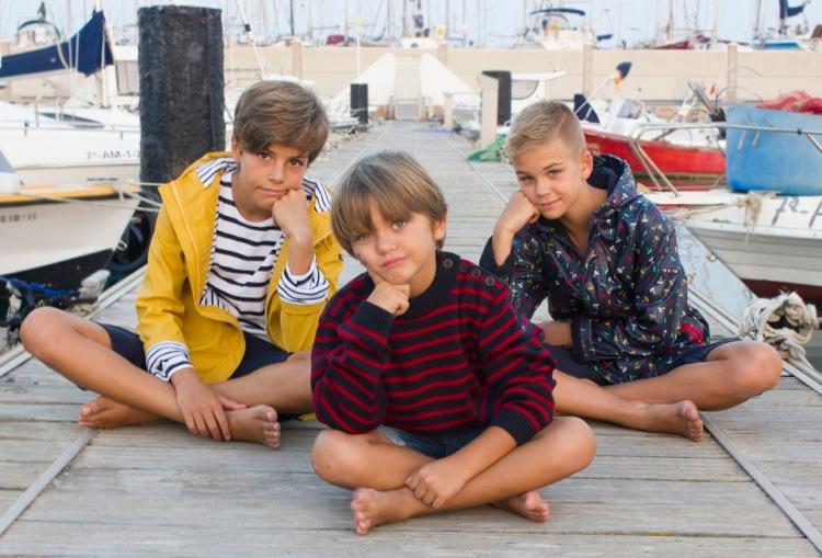 tres modelos de marinero y chisqueros