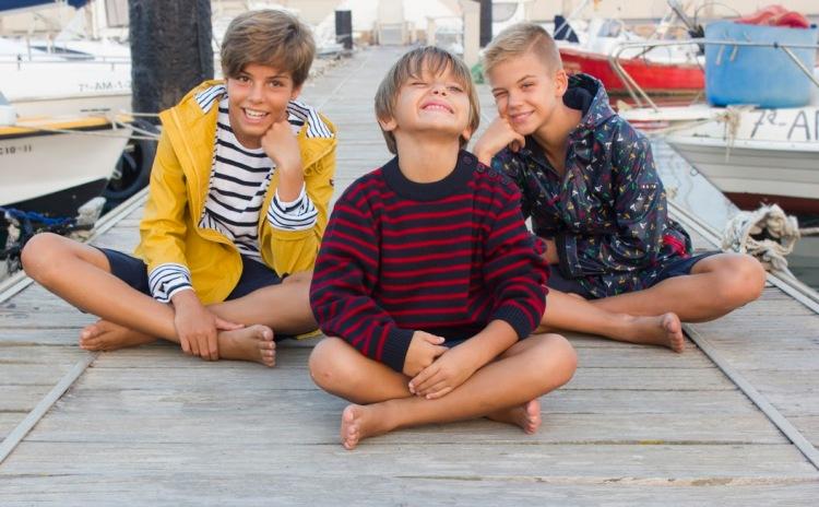 niños moda marinera otoño invierno