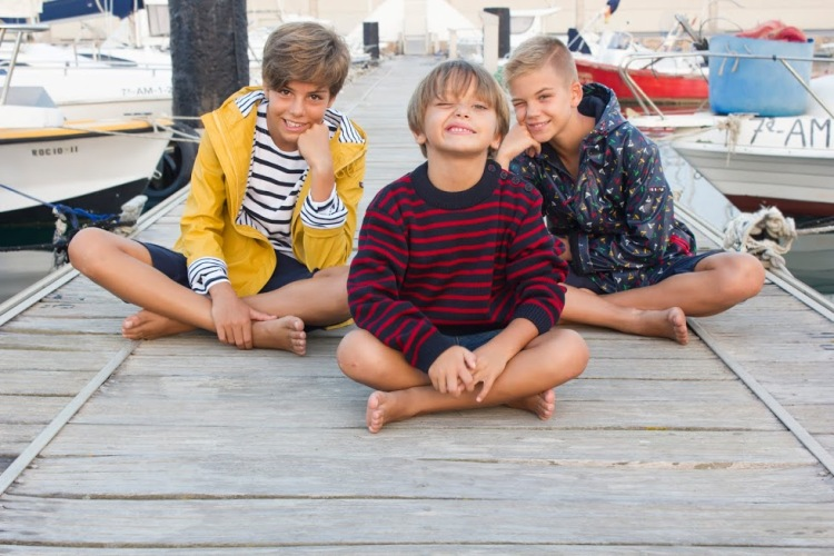 moda marinera niños