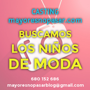 promoción para campaña de casting