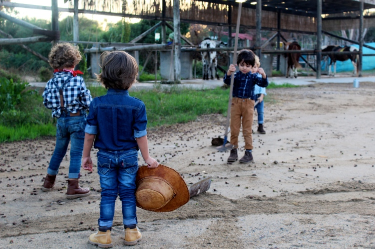 PEQUEÑOS MODELOS CON ESTILO COWBOY 2016 CUADROS
