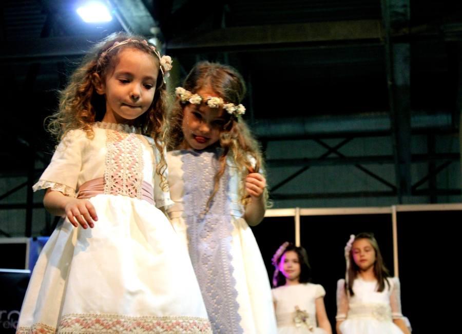 las mas peques en desfile almería comuniones moda infantil y ceremonias