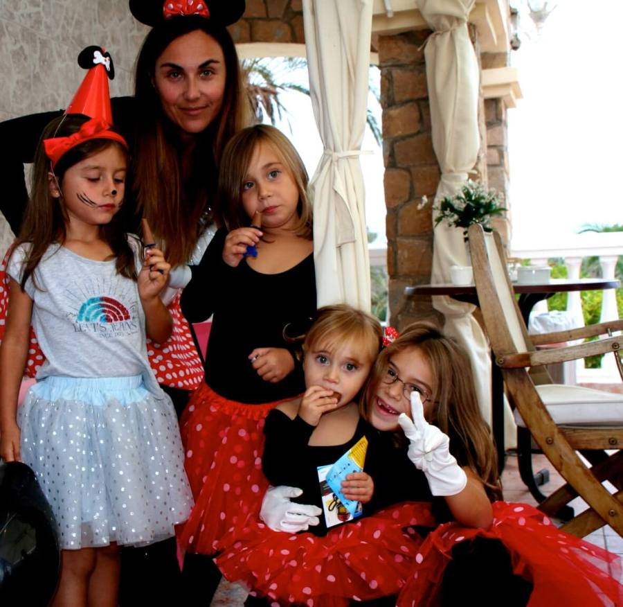 fiesta cumple super de mini mouse