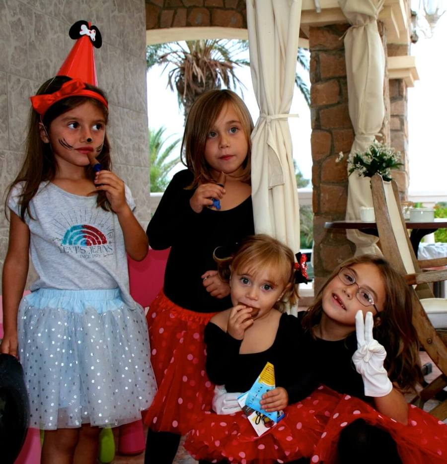 con mis mini amiguitas fiesta cumple mini mouse