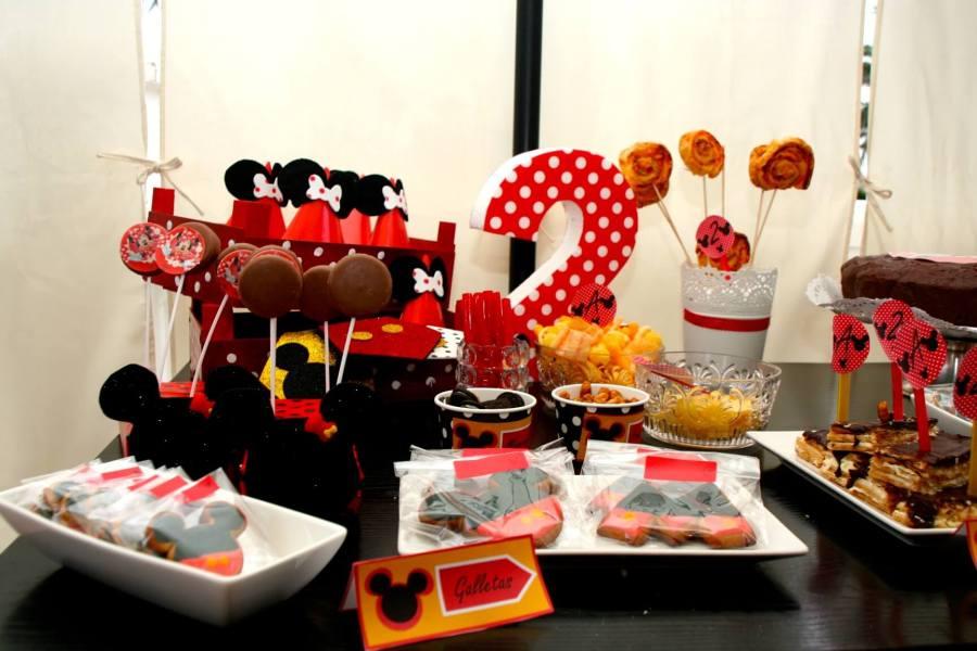 mini mouse fiesta cumple dos años