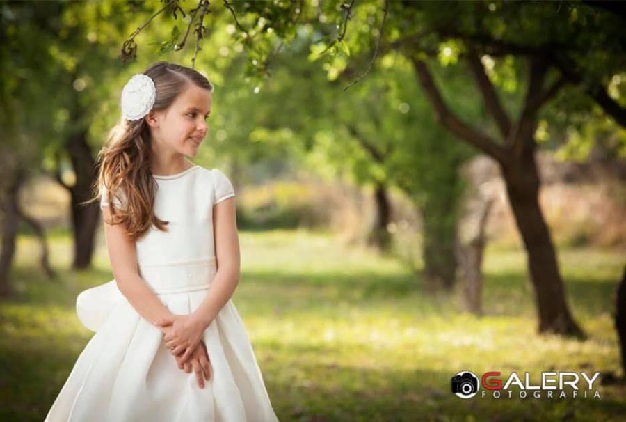 moda infantil en el campo comunión