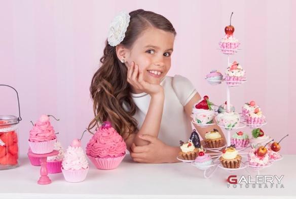 dulces chuches comunión rosa palo moda infantil
