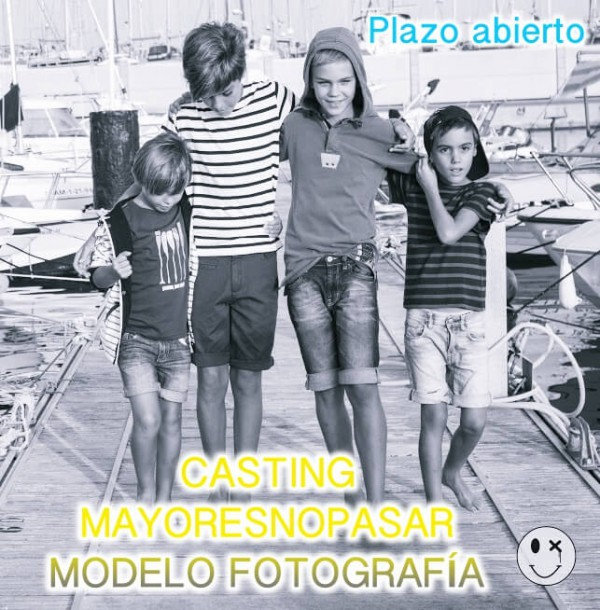 CASTING MODELO FOTOGRAFÍA