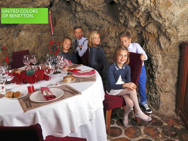 cena con los peques de benetton ejido