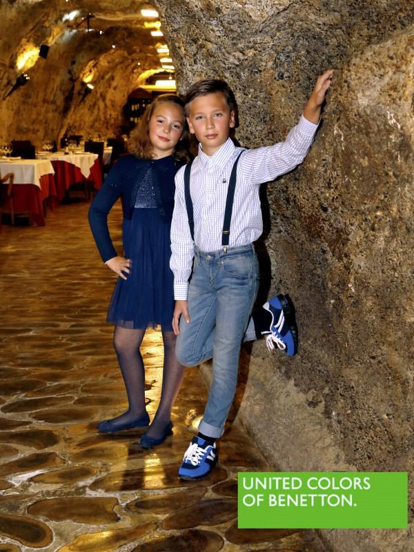 los peques están especialmente guapos moda infantil benetton ejido