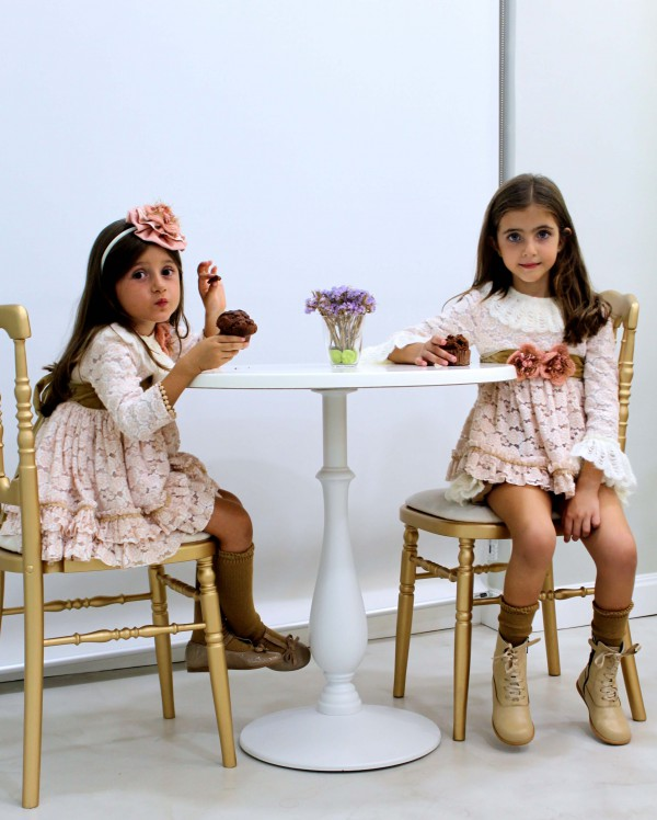 moda infantil para minis princesas 2016 ceremonias