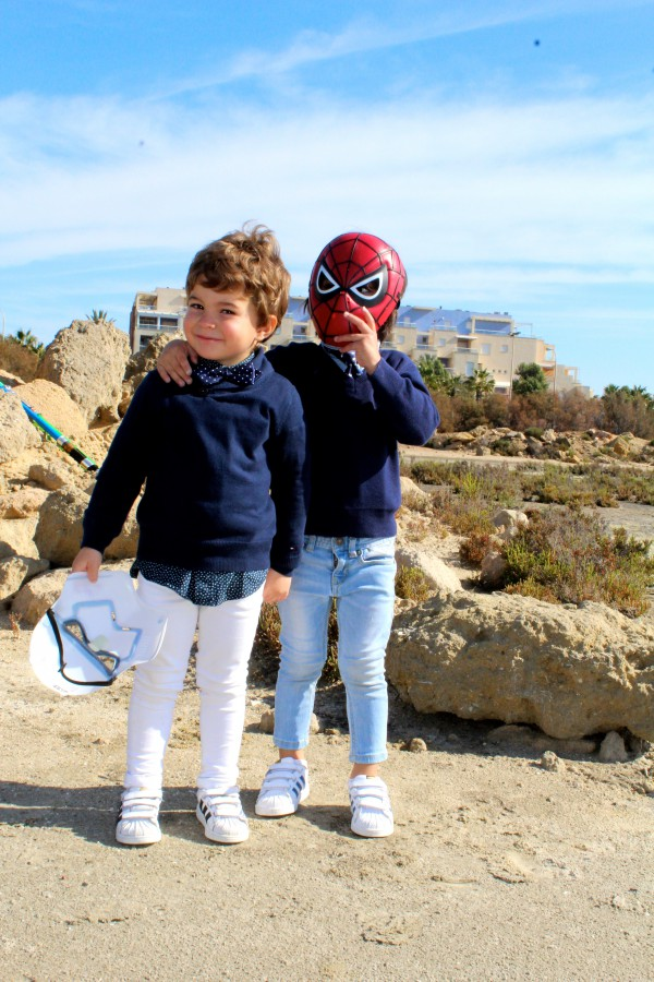 moda infantil para los pequeños denim look urban parajjita