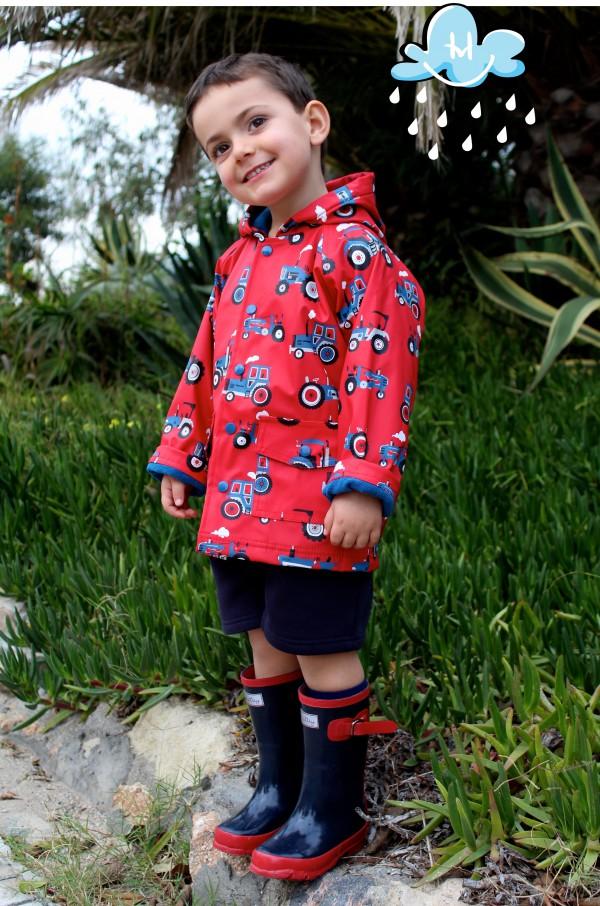 botas y chubasqueros dan color a la moda infantil almeria