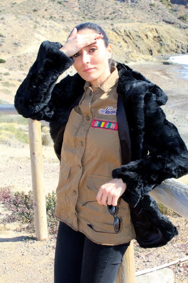 look militar primaveral moda infantil almeria