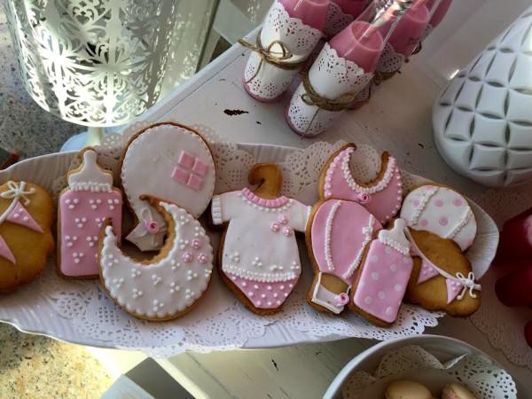 moda infantil con baby shower en rosa