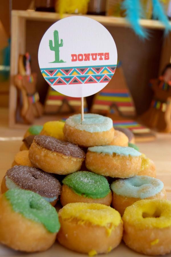 donuts muy west para tu fiesta de cumple trendy moda infantil almeria