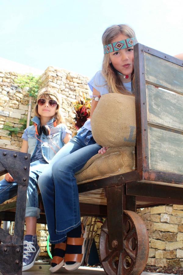 look hippie para los más peques de la casa moda infantil almeria