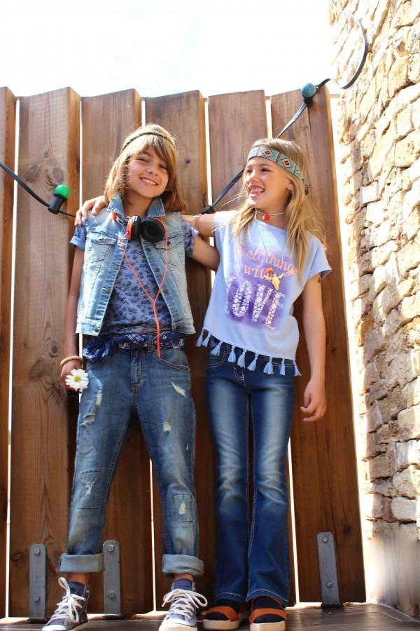 benetton con moda infantil almeria nos enseña lucir hippies chic