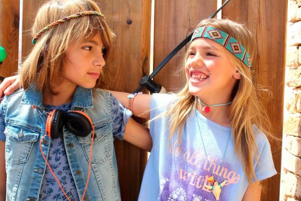 look muy hippies para primavera verano 2016 con benetton