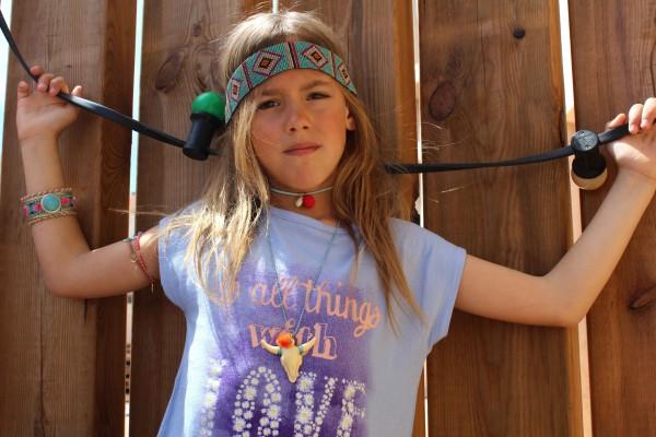 look hippie chic con benetton moda infantil almeria