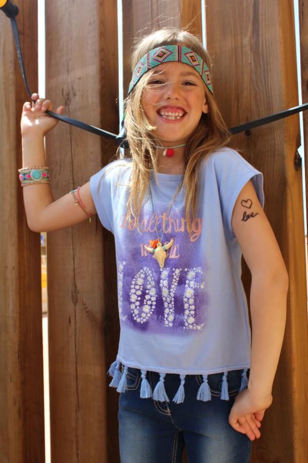 moda infantil almeria con benetton primavera verano 2016 look hippies chic