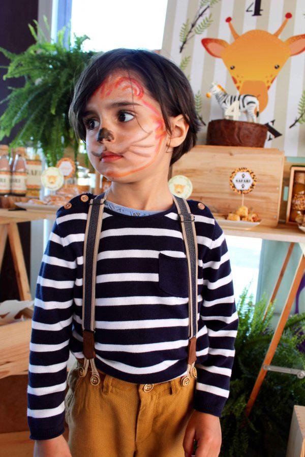 moda infantil almería fiesta cumpleaños temática safari con los más peques trendy