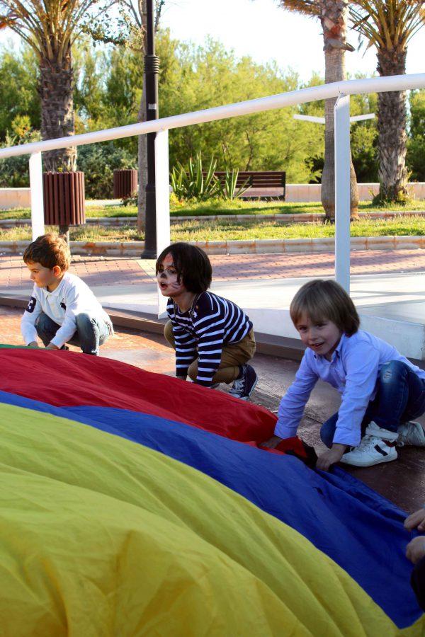 divertidísima fiesta de cumpleaños moda infantil almeria