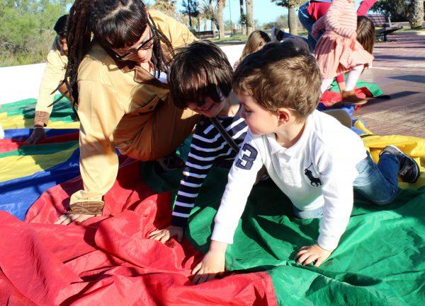 fiesta temática safari moda infantil almeria para los más trendy