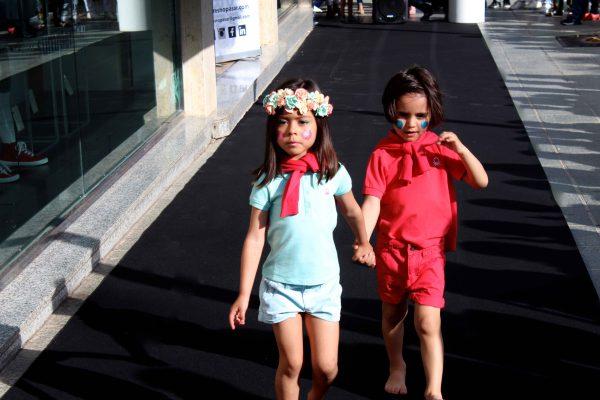desfile moda infantil con benetton ejido