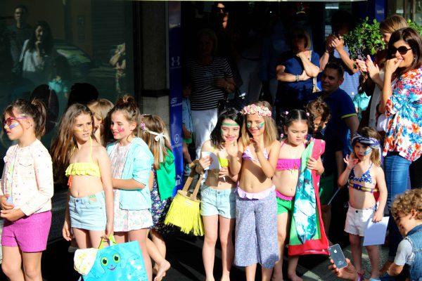desfile con benetton ejido en su colección primavera verano 2016