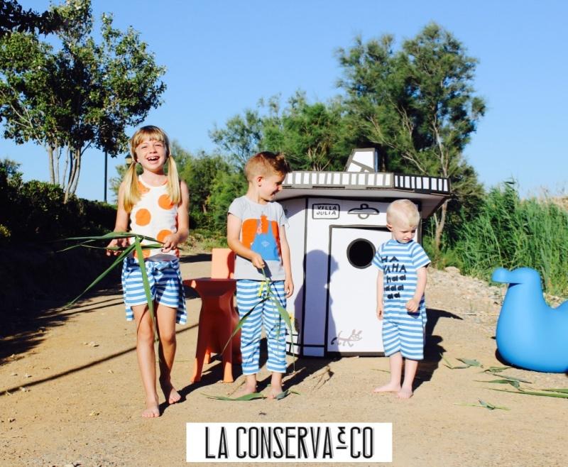 javier mariscal diseño de decoración infantil casitas de cartón piedra