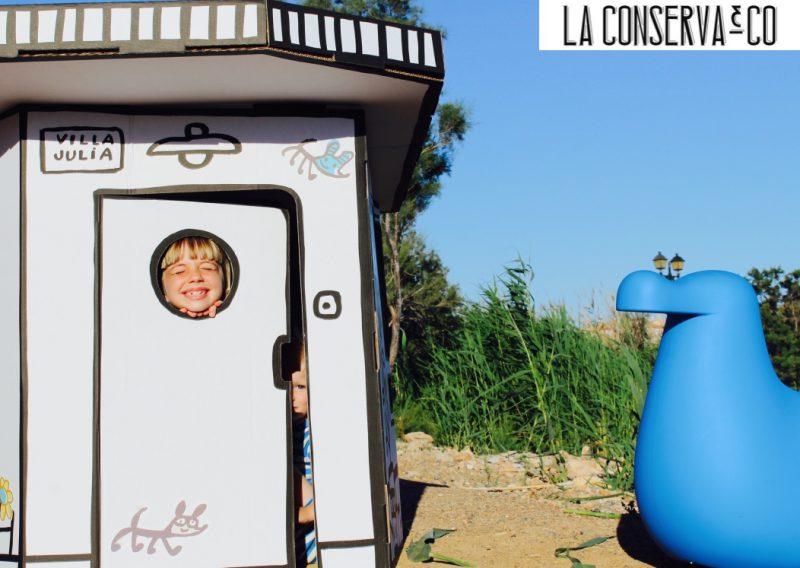 casita personalizable de javier mariscal diseño colección de magic