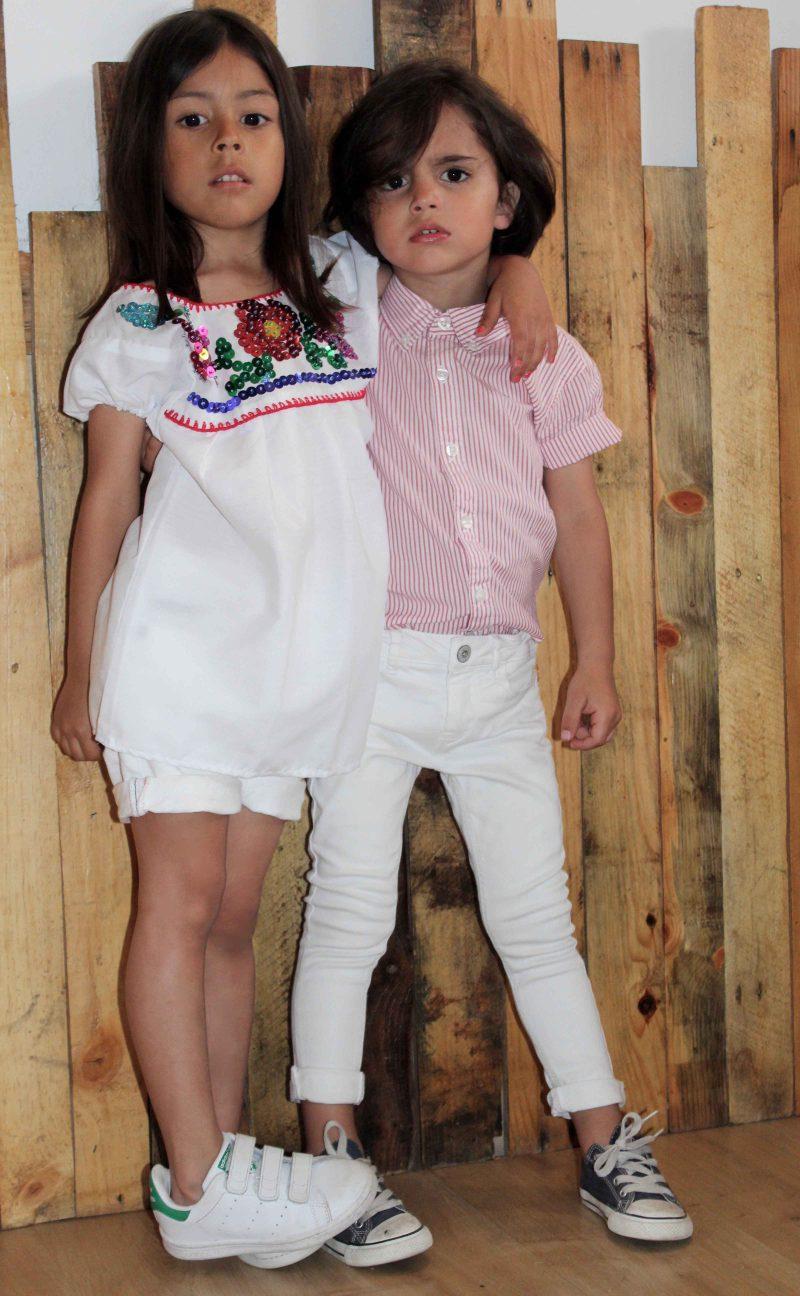 looks muy trendy en moda infantil almería camisa artesanal mejicana para niña