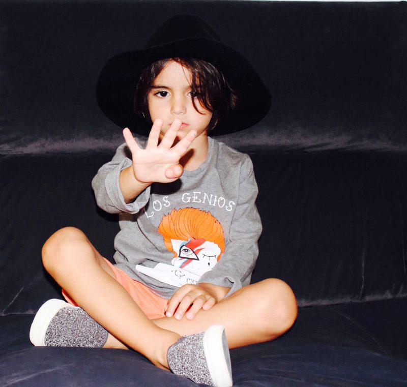 camiseta aire retro david bowie blog de moda infantil almería 2016