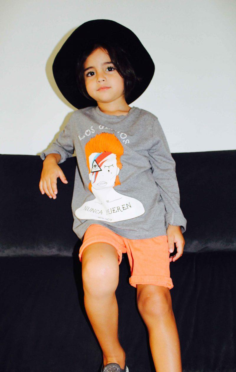 camiseta de david bowie perfecta para este verano moda infantil almería
