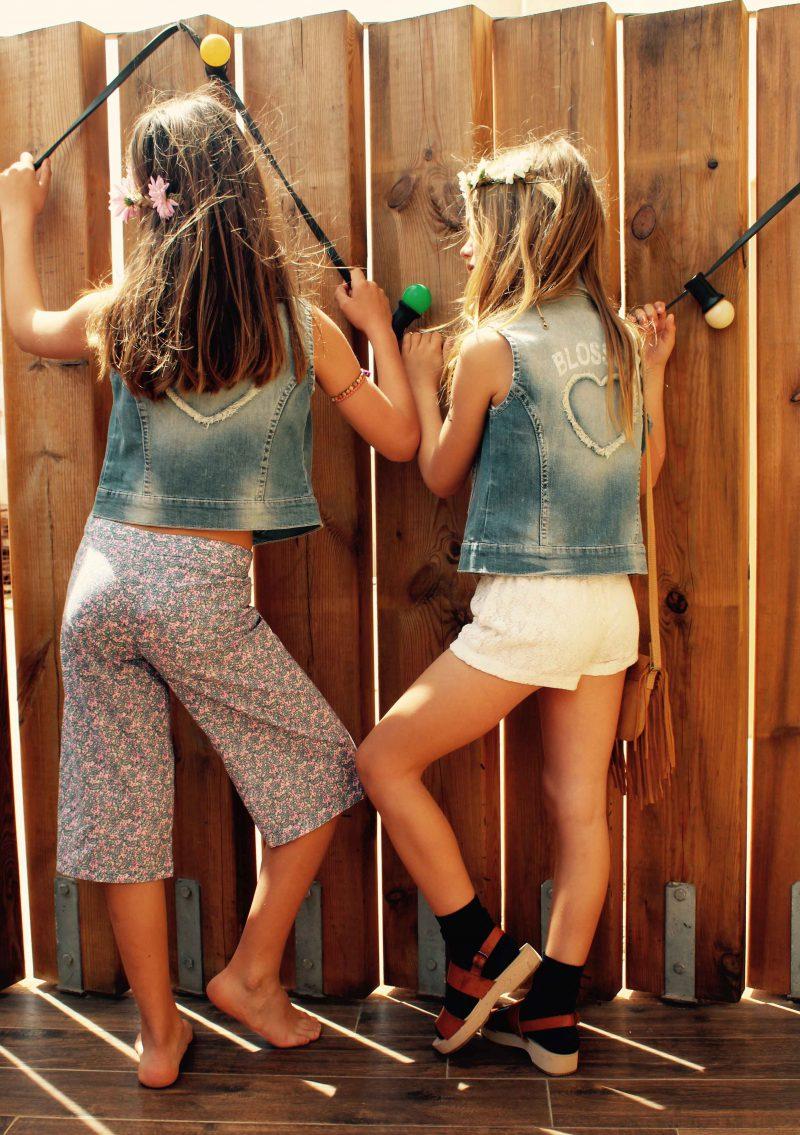 moda muy hippie chic para niñas muy trendy