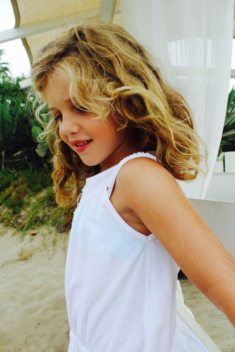 look boho para una tarde de playa moda infantil almería