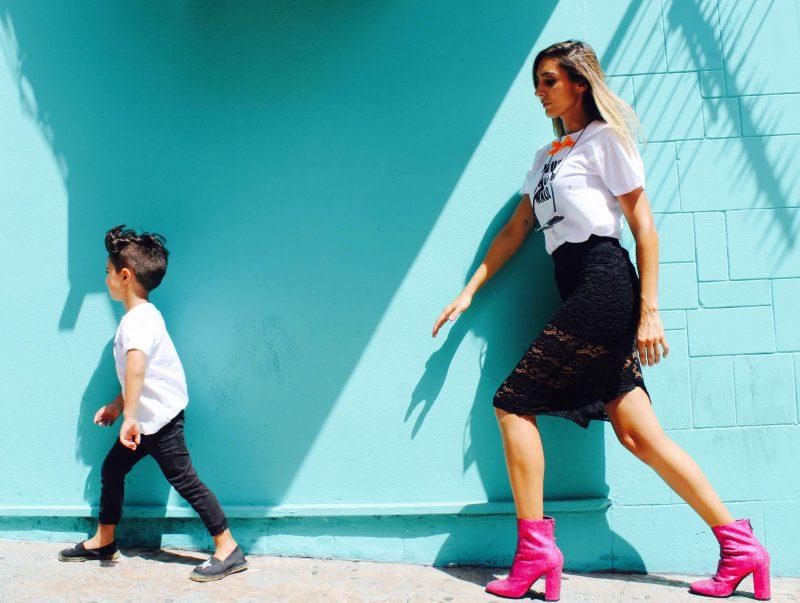 camisetas personalizadas con pinneapplestyle para peques con su mamá iguales