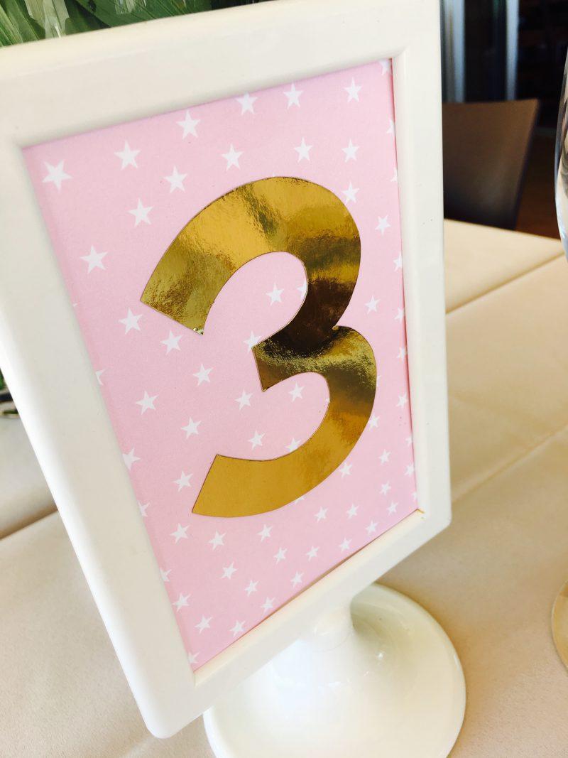 para tu super fiesta de cumpleaños de peque en rosa y dorado super trendy