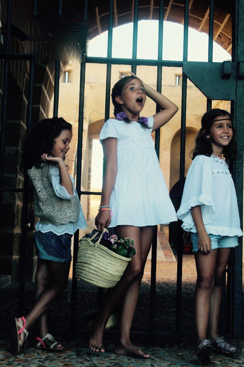 boho chic muy trendy para estas niñas